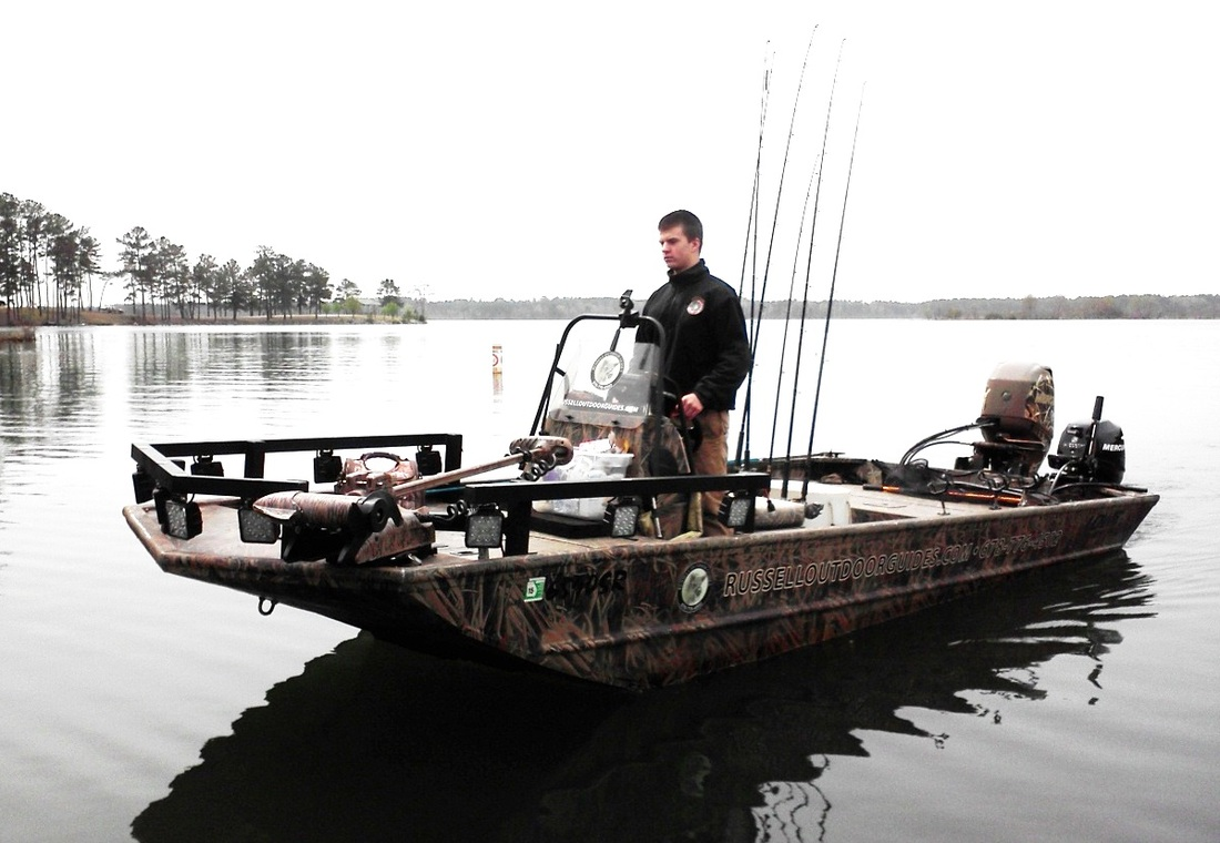 Bowfishing Fishing Russell Outdoor Guides